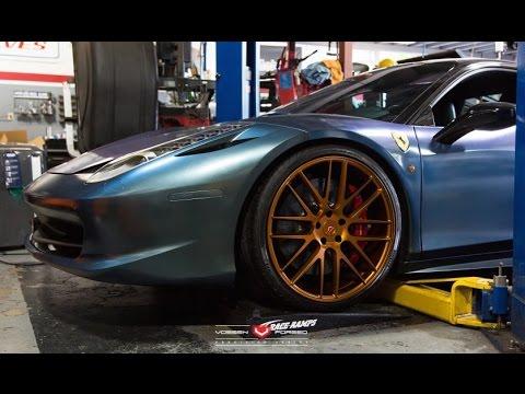 How It's Made - Dipping Custom Ferrari Wheels, pt. 3