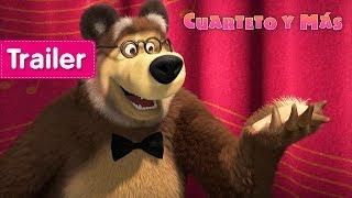 Masha y el Oso - Cuarteto y Más 🎻(Trailer)