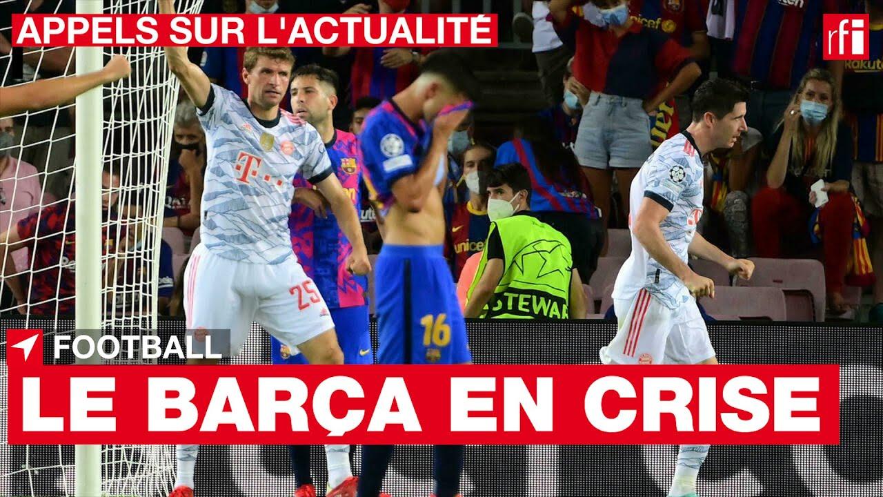 Football : le Barça est en crise • RFI