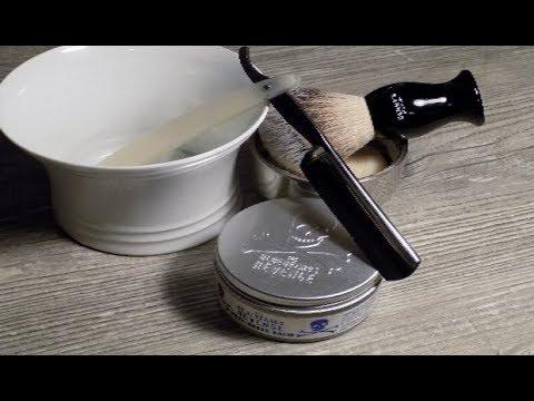 Rasur - Pur ! Der Bart muß wieder ab ;-) Nassrasur mit Rasiermesser