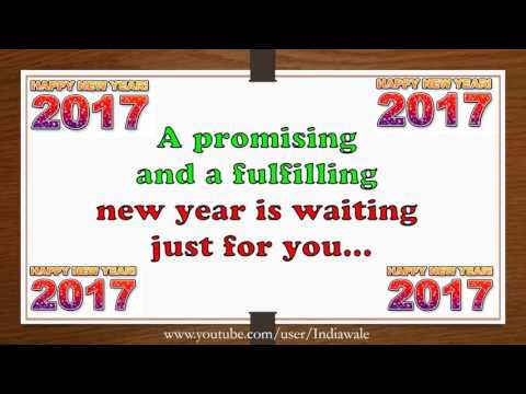 happy new year 2017 beautiful wishesnew year greetingswhatsapp videoe