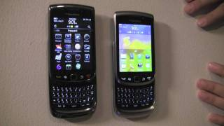 BlackBerry Torch Models Compared - Torch 9800, 9810, 9850 / 9860