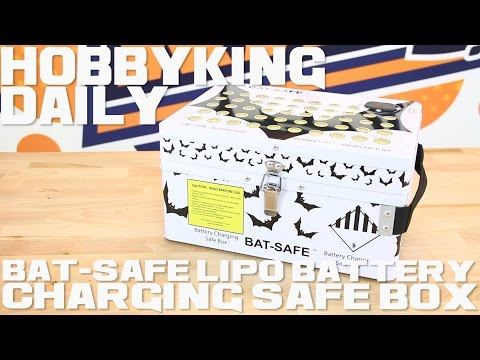 Bat-Safe LiPo Battery Charging Safe Box – HobbyKing Daily