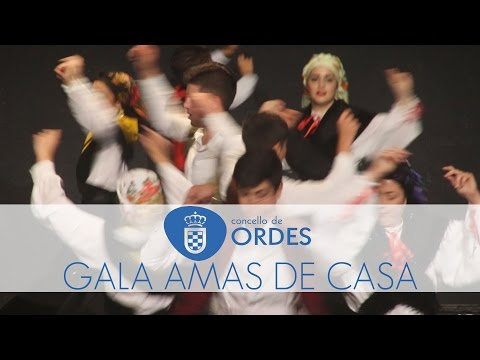 Gala Amas de Casa Ordes, 50 Aniversario