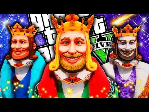 ¡Los 3 Reyes Magos en GTA! **(personajes legendarios)**