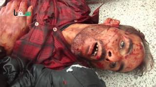 preview picture of video '+18 2013/10/11 Damascus : Saqba : Martyr Mohamed Waleed Saadeddin'