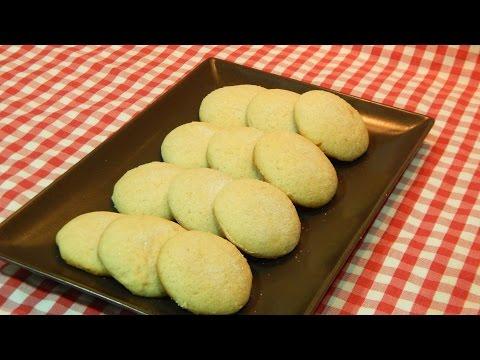 Receta de galletas de nata o crema de leche