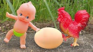 Em bé búp bê chơi đùa cùng các bạn động vật đáng yêu - đồ chơi trẻ em FMC G473B