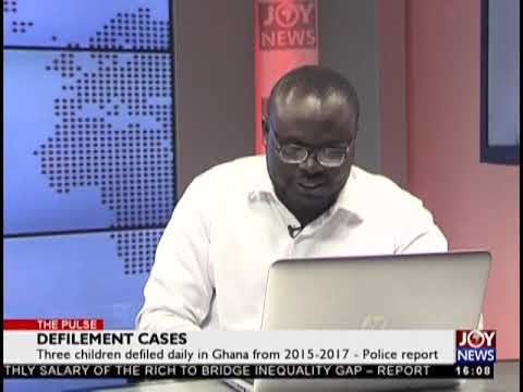 Defilement Cases - The Pulse on JoyNews (20-9-18)