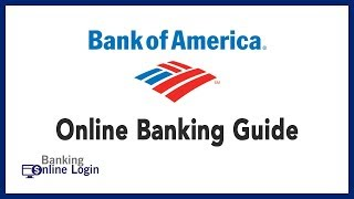 Bank of America Online Banking Guide | Login - Sign up