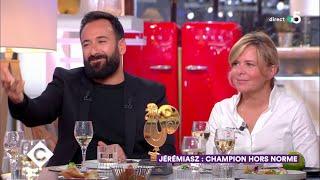 Au dîner avec Christelle Brua et Michaël Jeremiasz ! - C à Vous - 17/10/2018