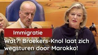 WAT?! Broekers Knol liet zich wegsturen door Marokko?