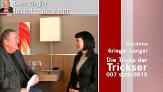 Profiler Suzanne Grieger-Langer gegen die Tricks der Trickser: im Interview bei Wissen ist Macht TV