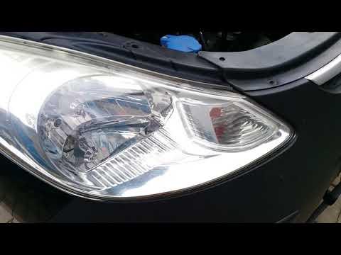 Hyundai I10 1.1cm³, 67PS, Scheinwerfer Ausbau und Einbau