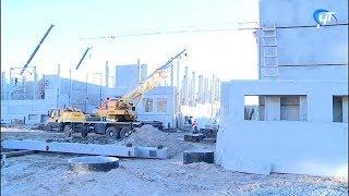 Губернатор Андрей Никитин проинспектировал ход строительства школы на улице Белорусская