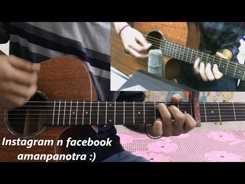 Tera Ban Jaunga - Kabir Singh - Hindi Guitar Cover Lesson Chords Easy - Akhil Sachdeva