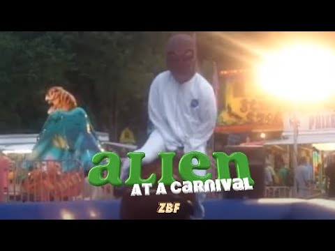 Alien at a Carnival