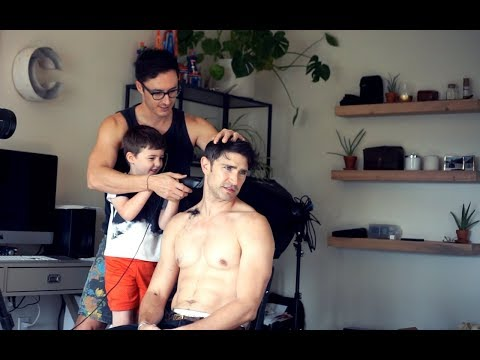 I Let My Husband And Son Shave My Head | MATT AND BLUE
