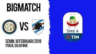 Live Streaming dan Jadwal Pertandingan Inter Milan Vs Sampdoria di HP via MAXStream beIN Sport