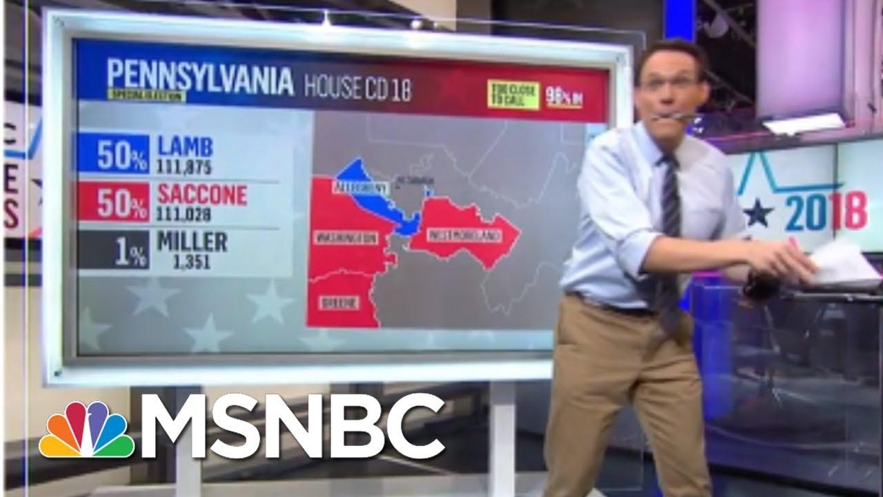 This Is Genius At Work.   Steve Kornacki   MSNBC thumbnail
