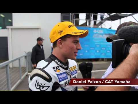 ASBK 2013 Rd7 Supersport Final - Arron Morris wins round 7, Daniel Falzon wins the championship