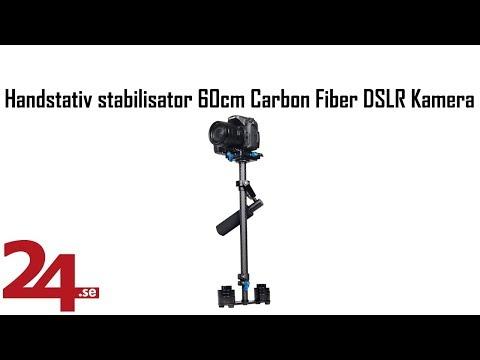 Handstativ stabilisator 60cm Carbon Fiber DSLR Kamera