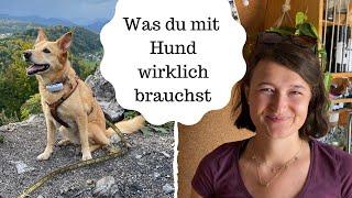 Minimalismus & Nachhaltigkeit mit Hund + unsere Adoptionsgeschichte