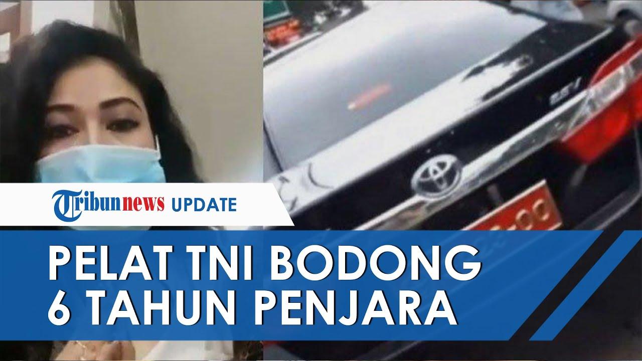 Buntut Video Pamer Pelat TNI Bodong, Wanita di Bandung Terancam 6 Tahun Penjara