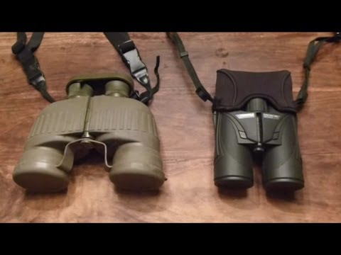Steiner Tactical 10×42 R, Mil dot Reticle Binocular Review, Plus Steiner M22 7×50 Comparison