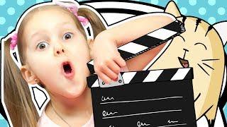 МАЛЫШ РЕЖИССЁР Снимаем кино Как снять фильм дома? Снято! Что у нас получилось?! Видео для детей