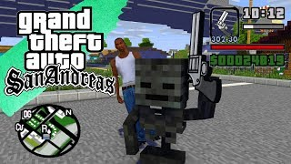 Monster School - GTA SAN ANDREAS FULL MOVIE - Minecraft Animation