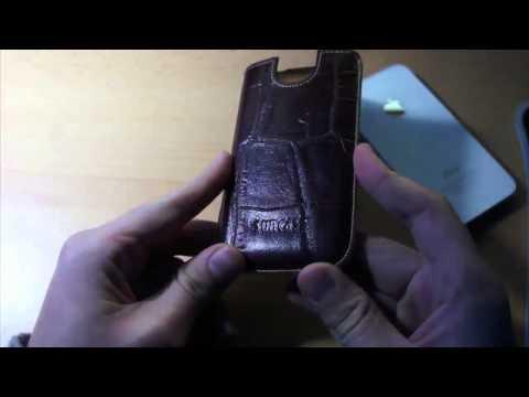 Unboxing - Suncase iPhone 4/4s Leder-Case