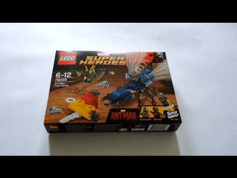 Lego Super Heroes 76039 Ant-Man Final Battle Обзор