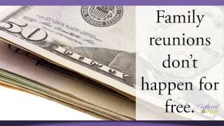 Selling Tickets   Family Reunion Planning 60 Second Tips