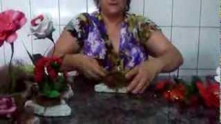 FLORES EM EVA NA PEDRA DE MARMORE