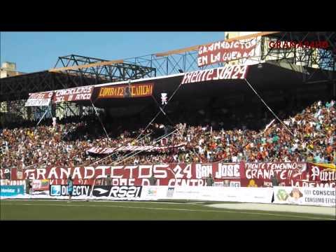 """GRANADICTOS 24 vs Caracas F.C. | 3era Jornada TC2014"" Barra: Granadictos • Club: Carabobo"