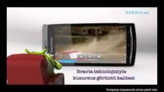 Sony Ericsson Xperia™ arc Turkcell TV Reklamı!