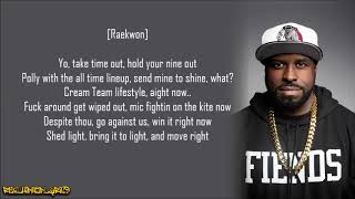Funkmaster Flex - Wu-Tang Cream Team Line-Up ft. Harlem, Inspectah, Killa, Method & Raekwon (Lyrics)