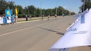 preview picture of video 'Финиш - финал юноши - лыжероллерный спринт в Кокшетау HD'