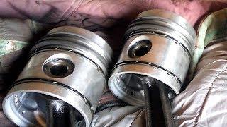 Замена поршней, колец на двигателе д-65. Ремонт ЮМЗ-6 ч.3 #Сельхозтехника ТВ