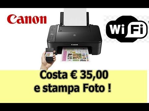 Canon  Ts3150 Pixma Stampante Recensione e test