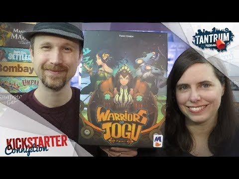 Warriors of Jogu Board Game Preview
