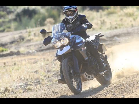 2015 Triumph Tiger 800 XC Review'd (Sponsored By Knox)