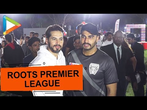 Arjun Kapoor & Dino Morea attend Roots Premier League Celebrations
