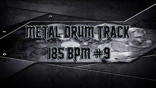 Double Bass Extravaganza Metal Drum Track 185 BPM (HQ,HD) | Preset 2.0