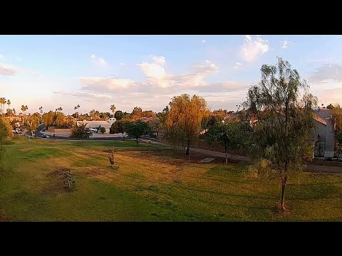 iFlight Alpha A85 HD - Stabilized FPV Park Early Morning on 4s Batteries