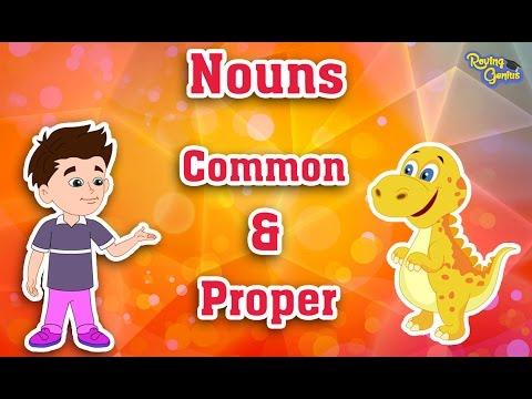 Common Nouns and Proper Nouns   English Grammar For Kids with Elvis   Grade 1    #7
