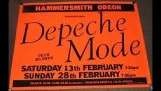 Depeche Mode - The Meaning of Love (Live Hammersmith odeon 1982)