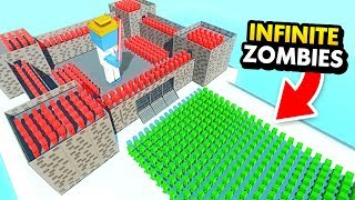 CASTLE OF GOD vs INFINITE ZOMBIE ARMY (Ancient Warfare 3 Funny Gameplay)