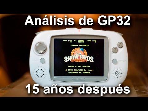 Review GP32 en Español (15 años después)